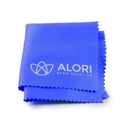 Hadřík z mikrovlákna Alori, 14x14 cm modrá