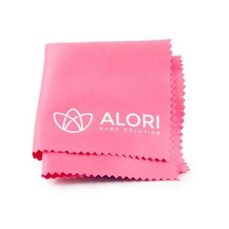 Hadřík z mikrovlákna Alori, 14x14 cm růžová