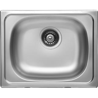 Kuchyňský dřez Sinks Classic 500 V 0,6 mm, matný