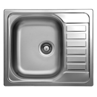 Kuchyňský dřez Sinks Triton 580 V 0,6 mm, matný
