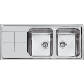 Kuchyňský dřez Foster Serie KS 2112 061 pravý leštěný