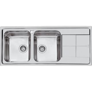 Kuchyňský dřez Foster Serie KS 2112 062 levý leštěný