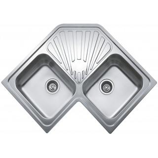 Kuchyňský dřez Teka Classic Angular 2B Nerez
