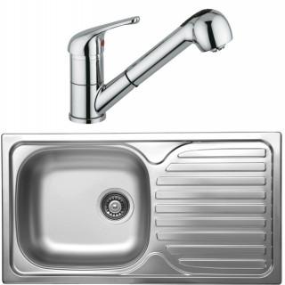 Kuchyňský set Sinks Kromevye 44 (dřez Classic 780 V + baterie Vento 4 S)
