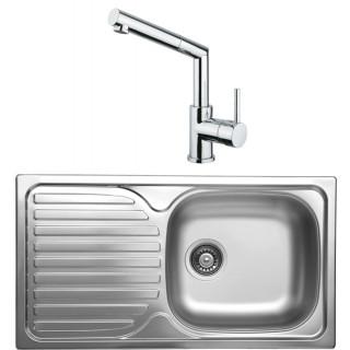 Kuchyňský set Sinks Kromevye 46 (dřez Classic 780 V + baterie Mix 350 P)