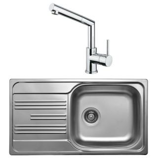 Kuchyňský set Sinks Kromevye 50 (dřez Colea 780 V + baterie Mix 350 P)
