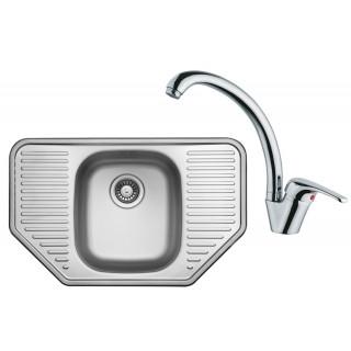 Kuchyňský set Sinks Ukinox N85 (dřez Comfort 777 + baterie Vento 55)