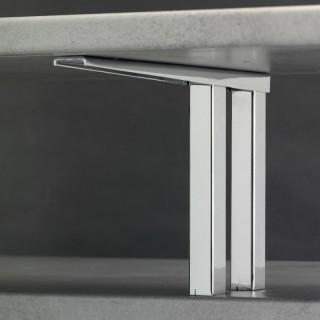 Konzola barového pultu Mivokor K014 - C chrom, výška 200 mm