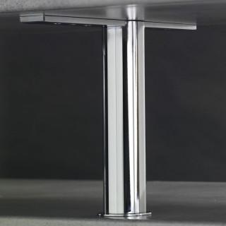 Konzola barového pultu Mivokor K021.250 - C chrom, výška 250 mm