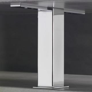 Konzola Mivokor K023.200 - C chrom, hranatá, 50x50x200 mm