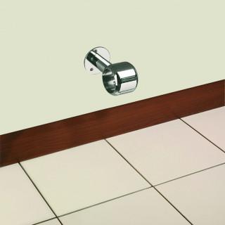 Držák barového madla Mivokor K042.2 - C chrom, na stěnu