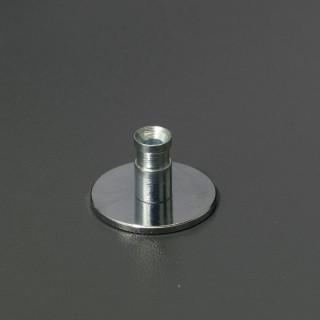 Podložka do sádrokartonu Mivokor P.1 - C chrom, 1 ks (použití pro úchytku klasik)
