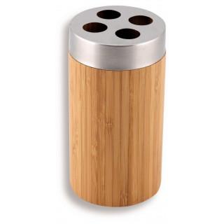 Držák kartáčků Ferro - Bambus 66234/1.6 Chrom - Bambus