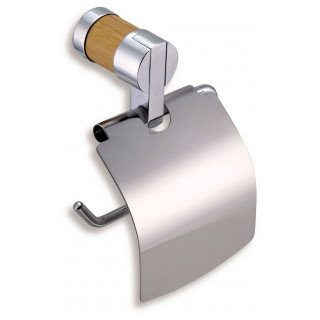 Závěs toaletního papíru s krytem Ferro - Bambus 66238.6 Chrom - Bambus