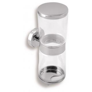 Zásobník kosmetických tamponů a tyčinek Metalia 11 0182.0 Chrom
