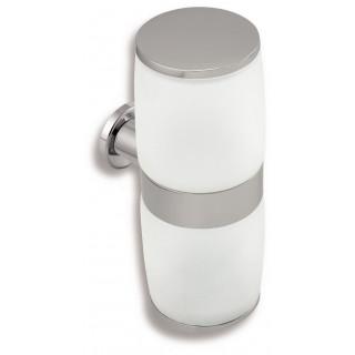 Zásobník kosmetických tamponů a tyčinek Metalia 2 6282.0 Chrom