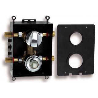 Montážní box s podomítkovou baterií s přepínačem Metalia BOX050R