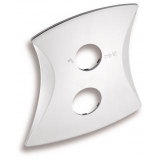 Kryt k podomítkovému boxu s přepínačem Metalia KRYT0050RD.0, Linie