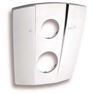 Kryt k podomítkovému boxu s přepínačem Metalia KRYT0050RF.0, Trapez