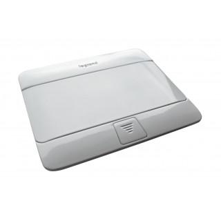 Elektrická POP-UP zásuvka 2x230 V Bílá lesk