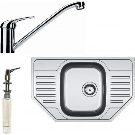 Kuchyňský set Franke N38 (dřez PXN 612 E + baterie FB 250.031 + dávkovač HC 20)
