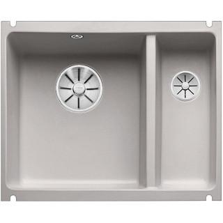 Kuchyňský dřez Blanco Subline 350/150-U Aluminium, s táhlem