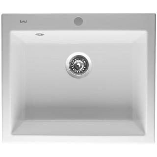 Kuchyňský dřez Sinks Ceram 600 Bílá 11