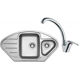 Set Sinks (dřez Lotus 945.1 + baterie Vento 55)